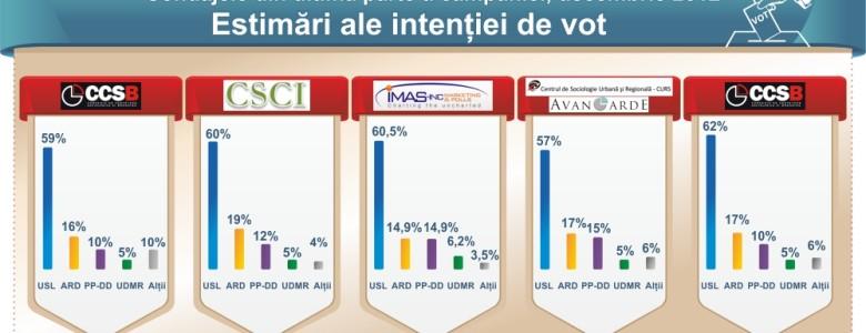 Infopolitic.ro - infografic vot parlamentare 2012