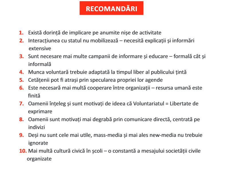 recomandari Bucuresti-Ilfov