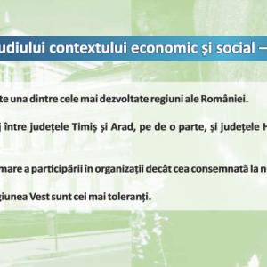 analiza de context - regiunea vest