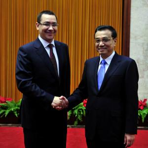 Victor Ponta, Li Keqiang
