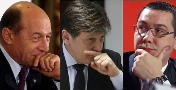 Basescu, Antonescu, Ponta