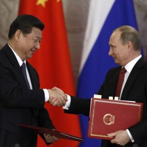 Rusia China