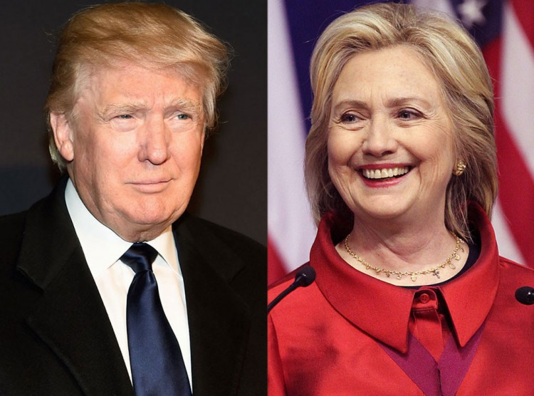 Donald Trump vs Hillary Clinton