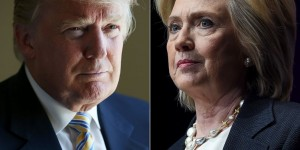 Donald Trump si Hillary Clinton