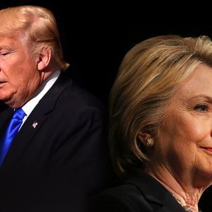 Coperta analiza Trump Clinton