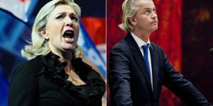 Marine Le Pen, Geert Wilders
