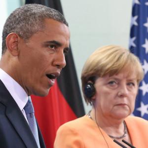 Obama, Merkel