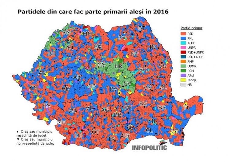 1_Partidele din care fac parte primarii